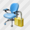 Icon Office Chair Locked Image