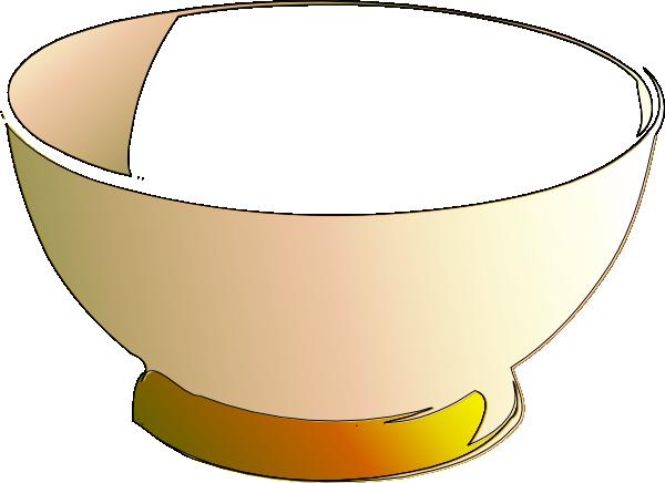 Empty Bowl Clip Art at Clker.com - vector clip art online ...