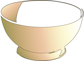 Empty Bowl Clip Art