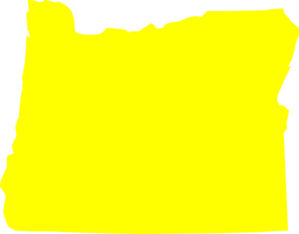 Yellow Oregon Clip Art