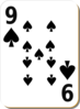 Nine Of Spades Clip Art