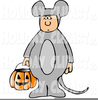 Clipart Moose Wearing Pajamas Image