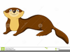 Animated Otter Clipart Image