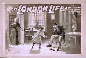 London Life A New & Original Melo-drama In Five Acts : By Martyn Field And Arthur Shirley. Image