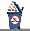Green Trash Can Clipart Image