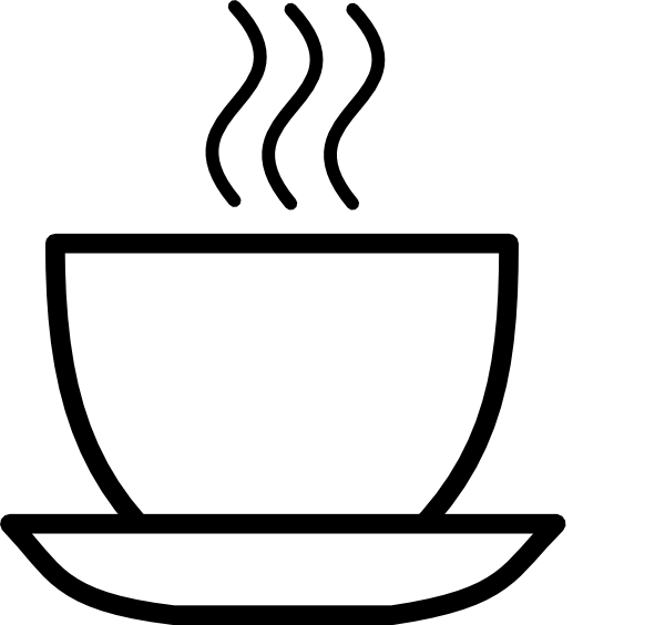 Black And White Coffee Clip Art at Clker.com - vector clip art online ...
