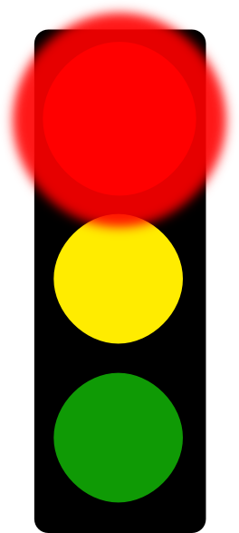 Clip Art Stoplight Clipart red stop light clip art at clker com vector online download this image as
