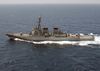 The Arleigh Burke Guided Missile Destroyer Uss O Image