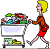 Animated Grocery Clipart Image