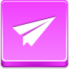 Free Pink Button Paper Airplane Image