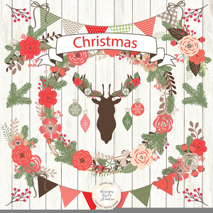 Christmas Card Cliparts Image