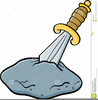 Sword In The Stone Clipart Image