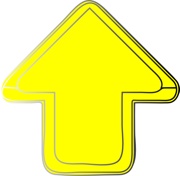 clipart yellow arrow - photo #16
