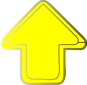 Yellow-arrow-up Clip Art