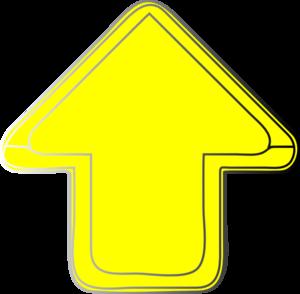 Yellow-arrow-up Clip Art at Clker.com - vector clip art ...