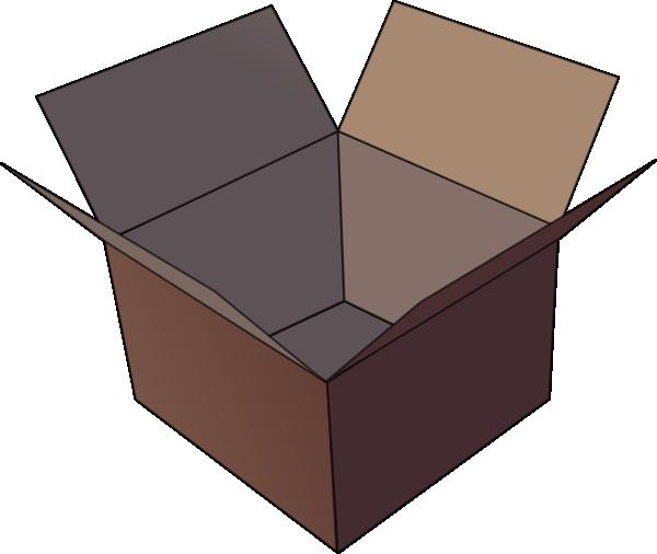 open box clip art at vector clip art online royalty free public domain. Black Bedroom Furniture Sets. Home Design Ideas
