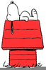 Snoopy Dog House Clipart Image