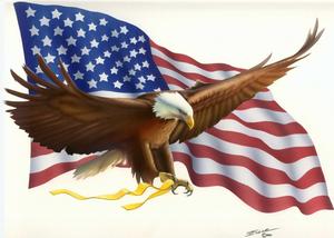 Eagle Flag Engle Bob Image
