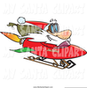 Christmas Clipart Sled Image
