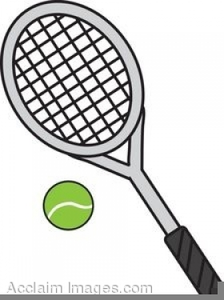 tennis racquets clipart free free images at clker com vector rh clker com raquette tennis clipart tennis racket clipart black and white