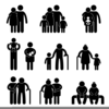 Tall Short Kind Clipart Image