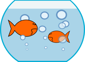 Goldfish In Fishbowl Clip Art