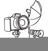 Camera Flash Clipart Image