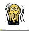 Clipart Screaming Face Image