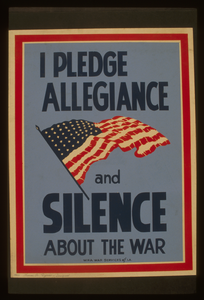 I Pledge Allegiance And Silence About The War Image