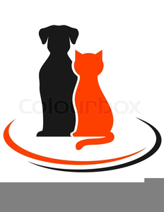 Cute Dog Cat Clipart Free Images At Clker Com Vector Clip Art Online Royalty Free Public Domain