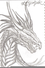Dragons Heads Drawings Image