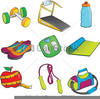 Exercise Equipment Clipart Image