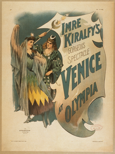 Imre Kiralfy S Gorgeous Spectacle, Venice At Olympia Image