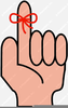 Free Clipart String Around Finger Image
