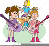Rock Band Clipart Image