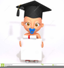Graduation Cap And Diploma Clipart Image