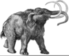 Wooly Mammoth Clipart Image