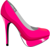 Dina, Hot Pink Stilletos, Jomar Clip Art