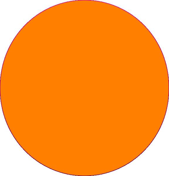 Orange Circle Clip Art at Clker.com - vector clip art online, royalty free & public domain
