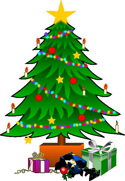 christmas tree clipart - photo #24