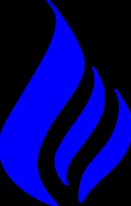 Free Simple Flames Border Transparent Background, Download ...  Blue Flames Clip Art