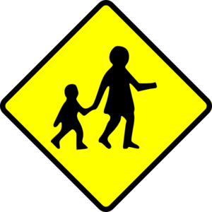 School Sign Clip Art