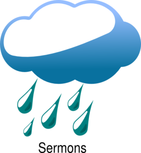 Rain Cloud Sermons Clip Art