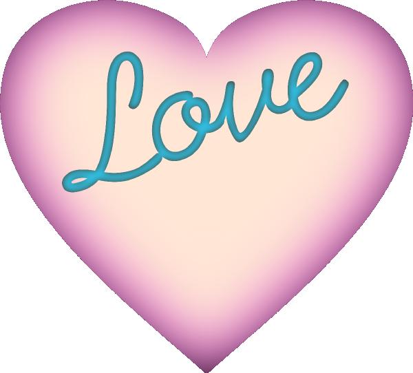 Love Heart Clip Art at Clker.com - vector clip art online ...