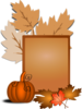 Halloween Pumpkin Sign Clip Art