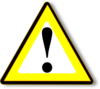 Black Yellow Warning Clip Art