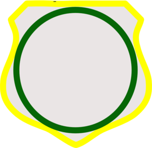 Cornered Shield Clip Art