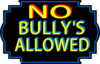 No Bullys Allowed Clip Art