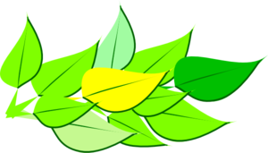 Analogous Leaves Clip Art