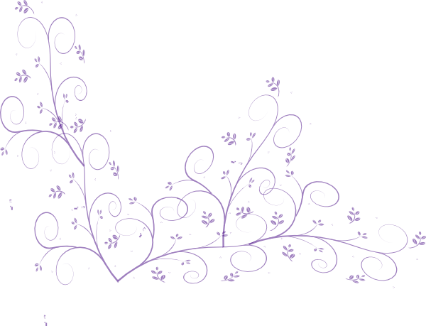 Purple flower vine clip art at clker vector clip art online download this image as mightylinksfo